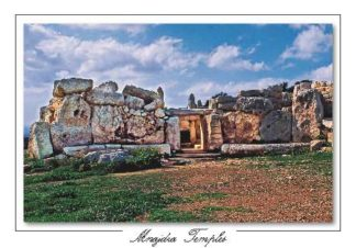 Mnajdra Temple (Pack of 50) #325