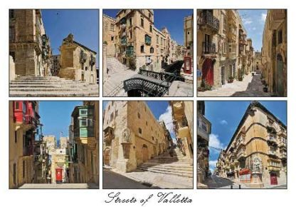 Streets of Valletta (Pack of 50) #326
