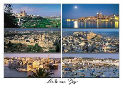 Malta and Gozo (Pack of 50) #334
