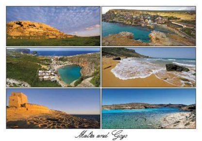 Malta and Gozo (Pack of 50) #335