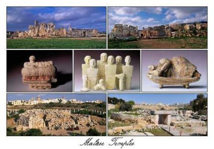 Maltese Temples (Pack of 50) #336