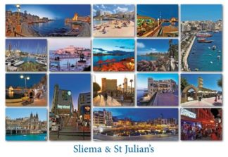 Sliema & St Julian's (Pack of 50) #362