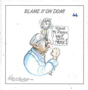 Blame it on Dom!