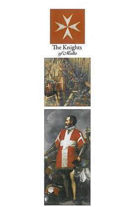Bookmark - The Knights of Malta