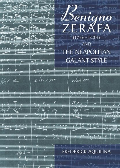 Benigno Zerafa (1726-1804) and the Neapolitan Galant Style BDL Books