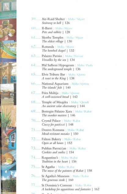 111 Places in Malta that you Shouldn't Miss BDL Books 4