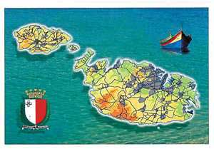 Folder with 12 Views of the Maltese Archipelago