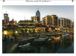 Folder with 6 images of Sliema and St Julian's