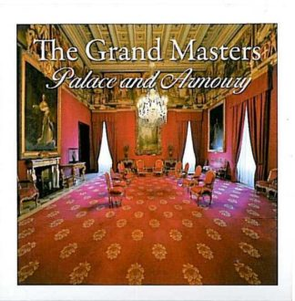 Mini folder with  12 views of the Grand Masters Palace and Armou