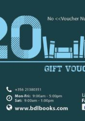 Gift Voucher €20 BDL Books