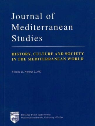 Journal of Mediterranean Studies - History