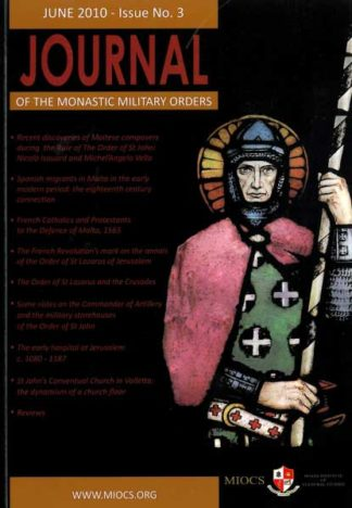 Journal of the Monastic Military Orders