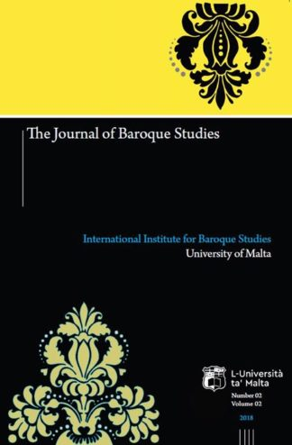 The Journal of Baroque Studies 2018 BDL Books