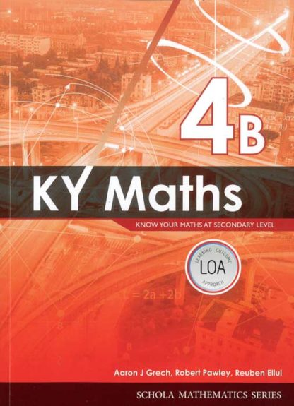 KY-Maths-4B-BDL Books