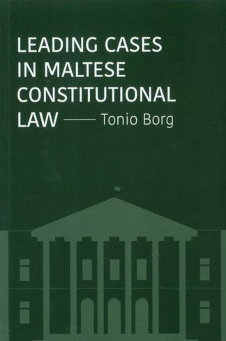 Leading-Cases-in-Maltese-Constitutional-Law-PB-BDL-Books