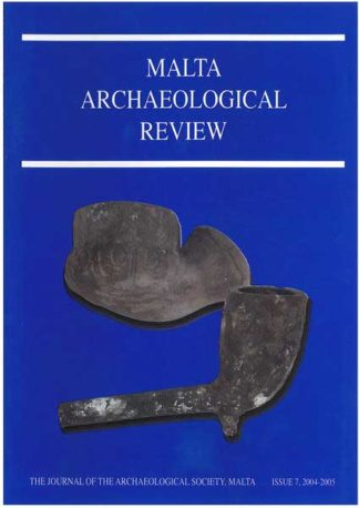 Malta Archaeological Review Issue 7