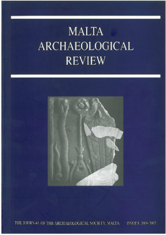 Malta Archaeological Review Issue 8