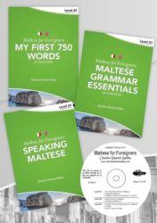 Maltese for Foreigners Level A1 Beginner (3 books+CD)