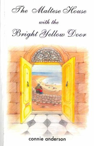 The Maltese House with the Bright Yellow Door