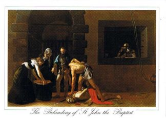 The Beheading of St John the Baptist (Pack of 50) #026