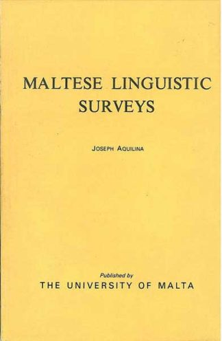 Maltese Linguistics Survey