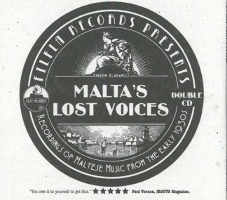 Malta's Lost Voices - Double CD
