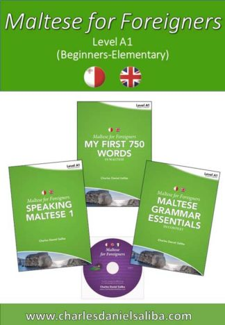 Maltese for Foreigners Level A1 BDL Books