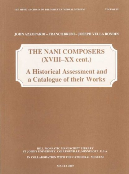 The Nani Composers (XvIII-XX cent.)