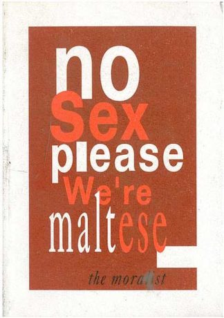 No Sex Please We're Maltese