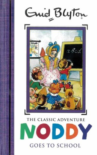 Noddy-goes-to-School-BDL-Books-Cover