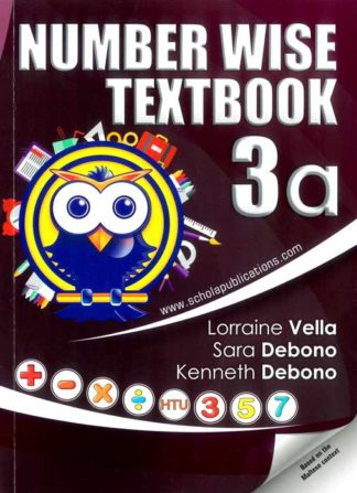 Numberwise-Textbook-3a-BDL Books