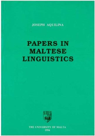 Papers in Maltese Lingusitics