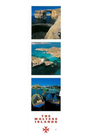 Bookmark - The Maltese Islands