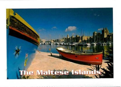 Folder with 12 views of the Maltese Islands
