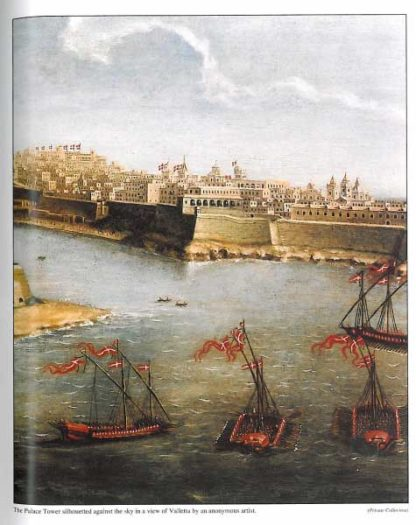 Palace of the Grand Masters in Valletta - Hardback