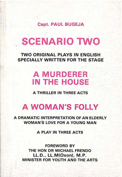 Scenario Two original plays written for the stage