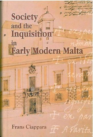 Society and the Inquisition In Early Modern Malta