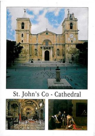Folder with 15 views of St John's Co-Cathedral
