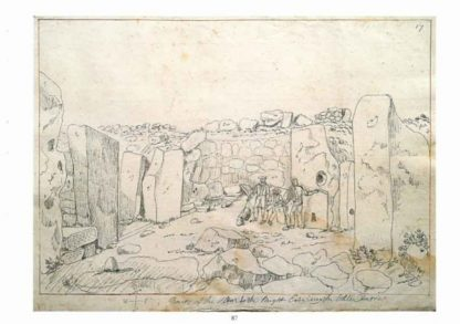 The Archaeological Drawings of Charles Frederick de Brocktorff