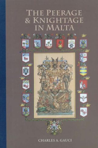 The Peerage and Knightage of Malta BDL Books