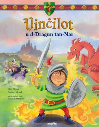 Vincilot u d-Dragun tan-Nar BDL Books