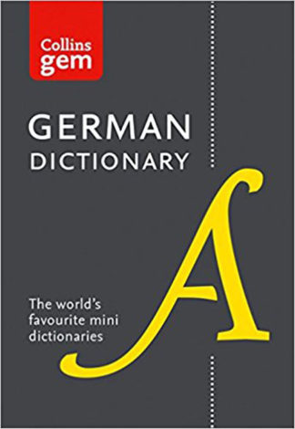 Collins Gem German Mini Dictionary BDL Books