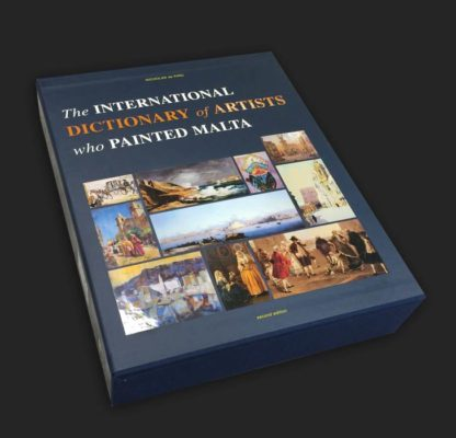 international-dictionary-of-artists-who-painted-malta-BDL Books