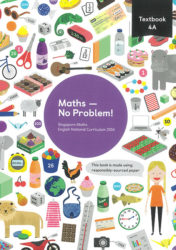 maths no problem 4A cover