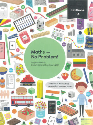 maths no problem 6A cover